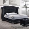 Barzini Glamorous Upholstered King Bed