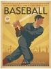 BASEBALL SWING Wall art # 961201