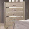Beaumont Five Drawer Chest with Felt Lined Top Drawer