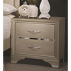 Beaumont Glamorous Nightstand with Two Drawers