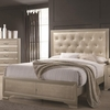 Beaumont Upholstered King Bed with Button Tufting