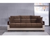Bennet Full Size Sofabed with Storage with Zero Wall