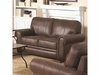 Bentley Rustic Styled Loveseat with Microfiber Upholstery