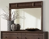 Bingham Mirror with Wood Panel Frame