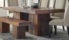 Binghamton Sheesham Rustic Dining Table