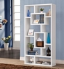 Bookcases Geometric Cubed Rectangular Bookshelf Furniture