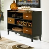 Boyer Server with 3 Storage Drawers