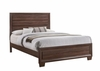 Brandon Transitionally Styled Queen Panel Bed