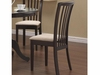 Brannan Slat Back Side Chair with Upholstered Seat