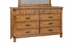 Brenner 8 Drawer Dresser with Felt Lined Drawers