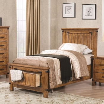 Brenner Twin Storage Bed with Dovetail Drawer
