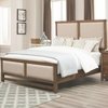 Bridgeport King Bed With Upholstered Headboard and Footboard