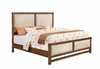 Bridgeport Queen Bed With Upholstered Headboard and Footboard