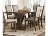 Bridgeport Rustic Craftsman Base Dining Table