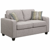 Brownswood Transitional Loveseat with Track Arms by Scott Living