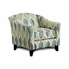 Brubeck Chair with leaf pattern Made In USA