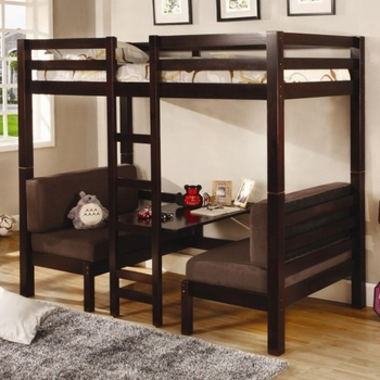 Joaquin Twin Over Twin Convertible Loft Bed 460263