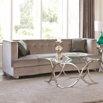 Caldwell Recessed Arm Upholstered Sofa 505881