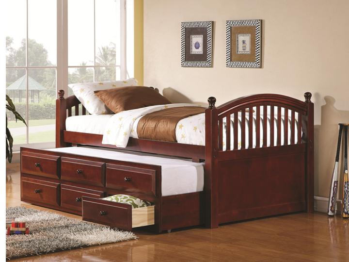 Captain S Daybed With Trundle And Storage Drawers