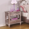 Caroline Night Stand with Rosette Knobs