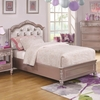 Caroline Twin Size Bed and Diamond Tufted Headboard