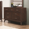 Carrington Dresser with Seven Dovetail Drawers