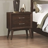 Carrington Night Stand with Two Dovetail Drawers