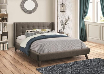 Carrington Queen Upholstered Bed