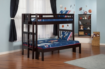 Cascade Twin/Full bunk bed