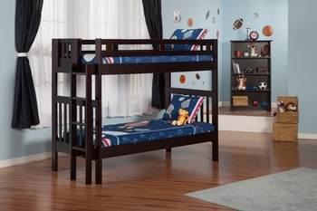 Cascade Twin/Twin bunk bed