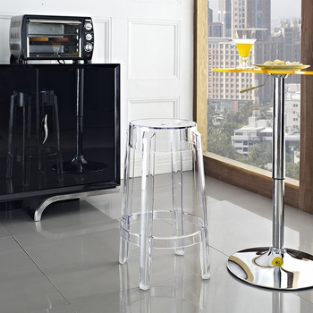 CASPER COUNTER STOOL IN CLEAR 171