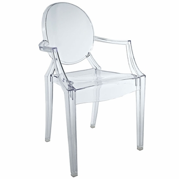 Casper Kids Chair in Clear