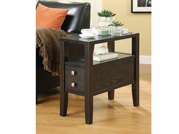 Casual Storage Chairside Table