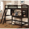 Casual Twin Workstation Loft Bunk