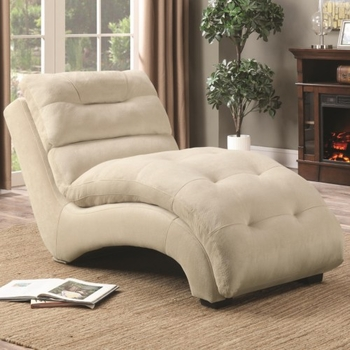ccent Chaise with Arched Base