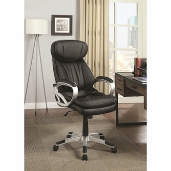 Chairs Black Office Chair w/ Headrest