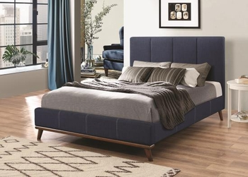 Charity California King Upholstered Bed