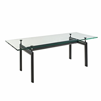 CHARLES DINING TABLE IN BLACK