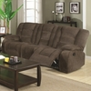 Charlie Brown Motion Reclining Sofa with Casual Style