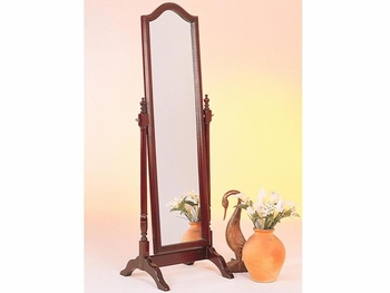 Cheval Floor Mirror with Arch Top