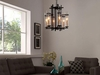 CHIME METAL CHANDELIER IN BLACK