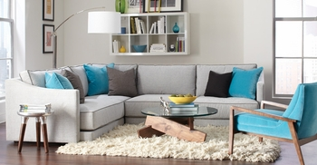Classic Sectional Arlington Furniture stores # 76036