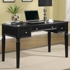 Classic Table Desk with Keyboard Drawer and Power Outlet