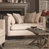 Claxton Traditional Tuxedo Chair and a Half with Tufting