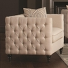 Claxton Traditional Tuxedo Chair with Tufting