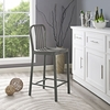 CLINK COUNTER STOOL IN SILVER