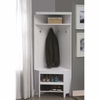 Coat Racks Corner Hall Storage with Shoe Storage