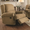 Colton Traditional Recliner with Rolled Arms and Nailhead Trim