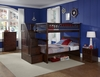 Columbia Staircase Full/Full Bunk Bed Children Bedroom Furniture