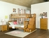 Columbia Staircase Twin/Twin Bunk Bed Children Bedroom Furniture